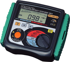 Digital Insulation Continuity Testers MODEL 3007A