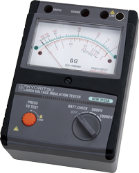 High Voltage Insulation Testers KEW 3123A