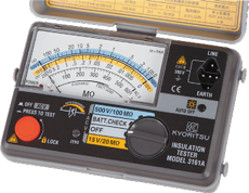 Analogue Insulation Testers MODEL 3161A