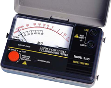 Analogue Insulation Testers MODEL 3165