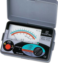 Earth Testers MODEL 4102A
