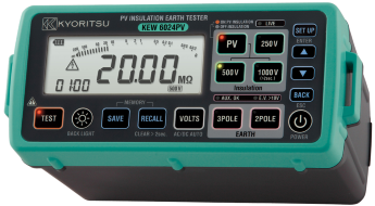 PV Insulation Earth Tester KEW 6024PV